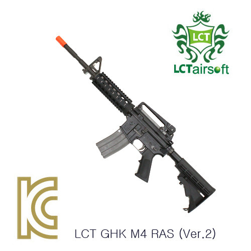 LCT GHK M4 RAS GBBR Ver.2 Colt Marking