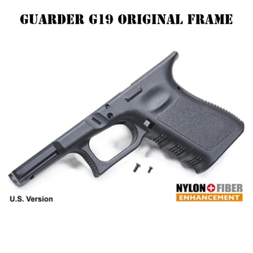 Guarder Original Frame for MARUI G19 (U.S. Ver./Black)