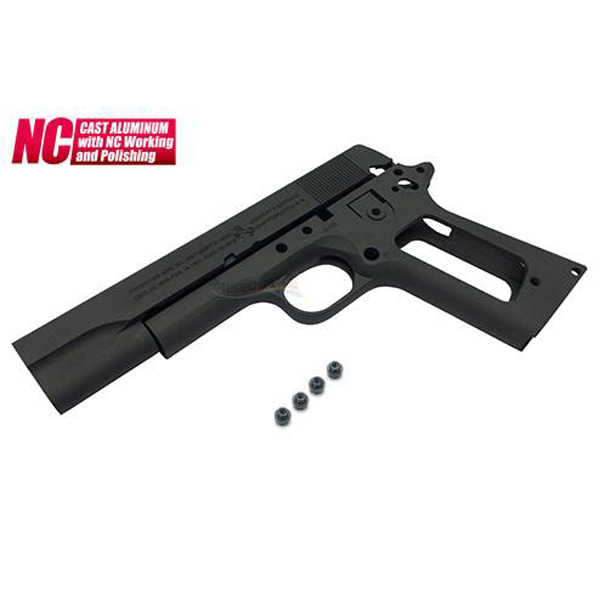 Guarder Aluminum Slide & Frame for Marui M1911A1 (US ARMY / Dark Gray)