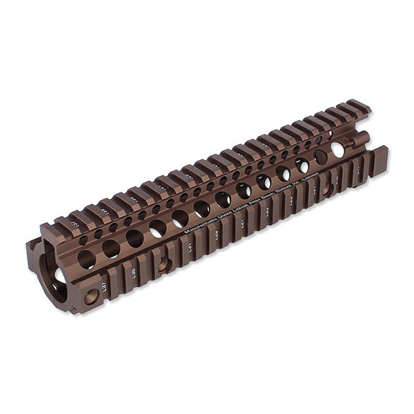 "Madbull Daniel Defense 9.5"" MK18 RIS II Airsoft Rail System (Flat Dark Earth)"