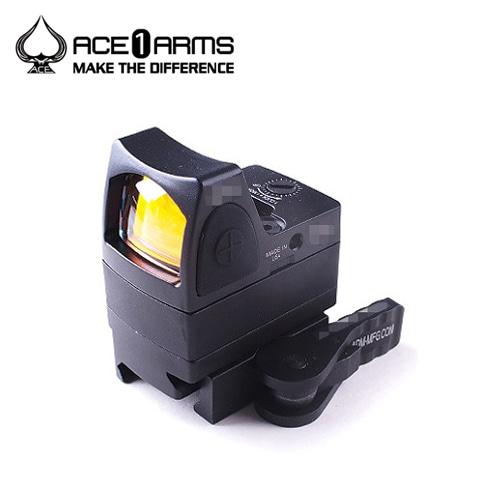 Ace1 Arms GEN 2 RMR Dot Sight with QD Mount