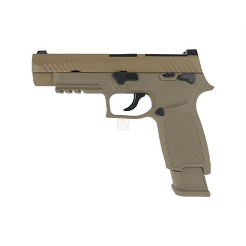 WE M17 SIGSAUER M17 P320 TAN 가스건