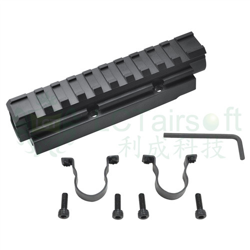 LCT AK Forword Optical Rail System (118.5mm)